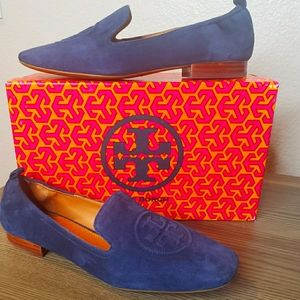 New Tory Burch Suede Loafers